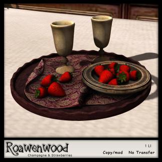 {RW} Champagne & Strawberries - XOXO