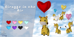 .TeaBunny. Giraffe in the Air Ad